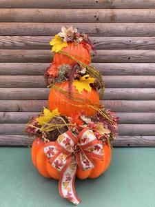 Sat-Oct 17- 2020 ^ 3pm ^ Pumpkin Topiary